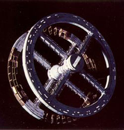 space station in 2001