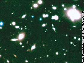 Abell 1835 cluster of galaxies