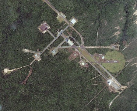 Alcantara launch site, Brazil