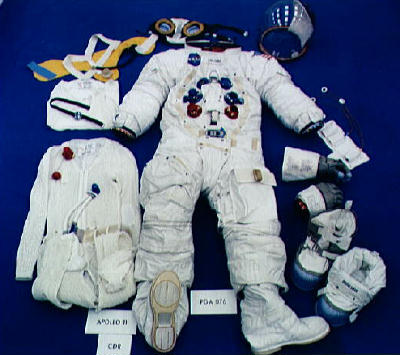 Apollo spacesuit
