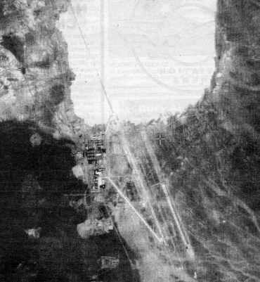 Satellite image of the Groom Lake military installation