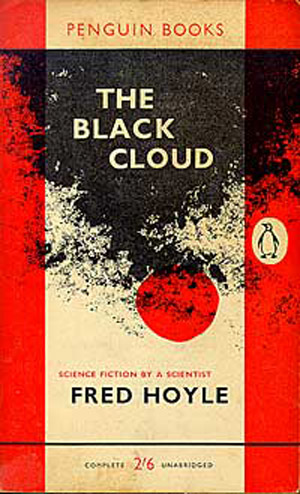 Cover to Fred Hoyle's 'The Black Cloud'