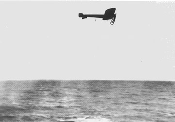 Bleriot crossing the Channel