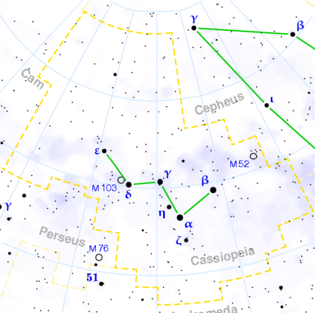 Cassiopeia constellation