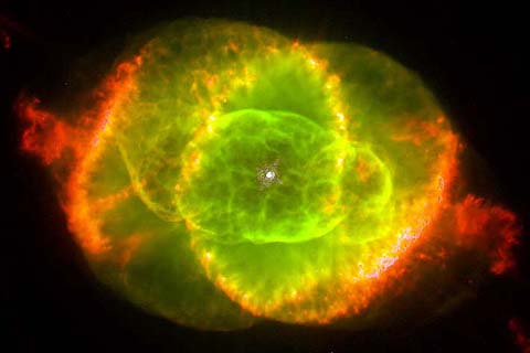 Cat's Eye Nebula, 1994 Hubble image