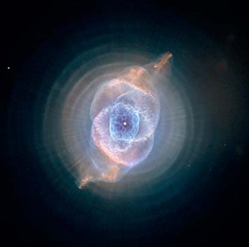 Cat's Eye Nebula, 2004 Hubble image