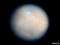 Hubble image of Ceres taken in 2007