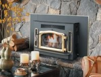 Country Flame Crossfire corn pellet stove insert