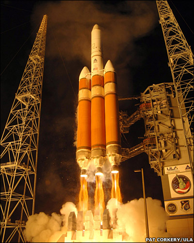 launch of Delta IV Heavy