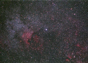 Deneb and North America Nebula