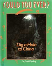 Could You Ever Dig a Hole to China book cover