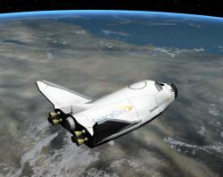 Dream Chaser in orbit