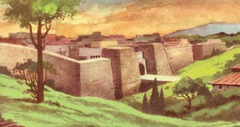 Etruscan walled city