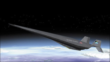 Falcon hypersonic test vehicle