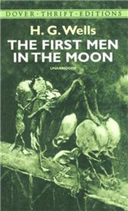First Men in the Moon, cover