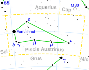 location of Fomalhaut