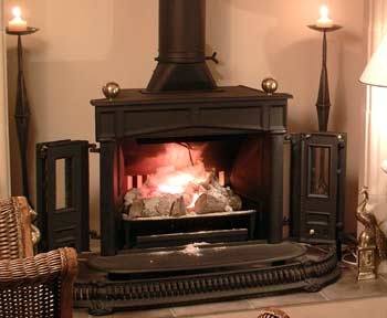 Franklin stove