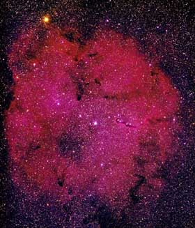 Garnet Star Nebula (IC 1396)