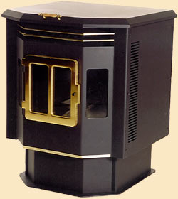 Golden Grain model 2004 corn burning stove