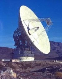Goldstone deep space antenna