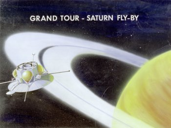 Grand Tour spacecraft, artist's impression