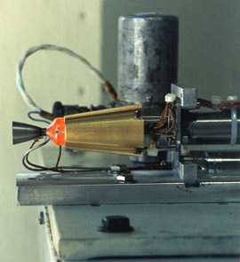 HAN-based thruster test