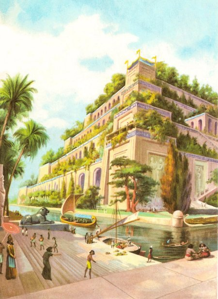 Reconstruction of the Hanging Gardens of Babylon