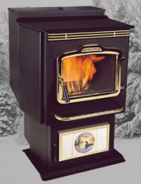 Harman PC45 corn stove