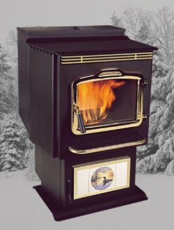 Harman PC 45 corn burning stove