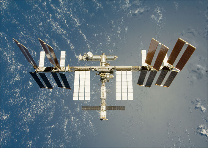 July 2009 the combined shuttle and iss crews set a new record of 13
