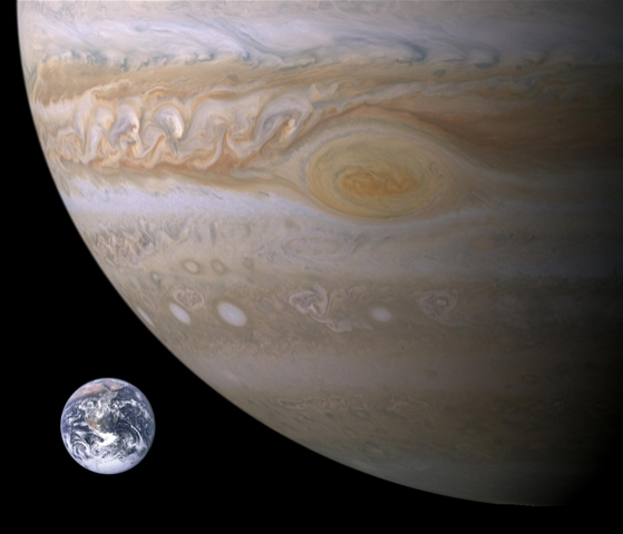 Jupiter and moons