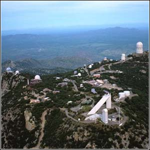 Kitt Peak National Observatory Peak summit