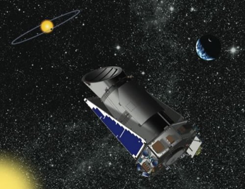 Kepler, artist's conception
