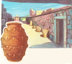 Royal store-rooms at Knossos