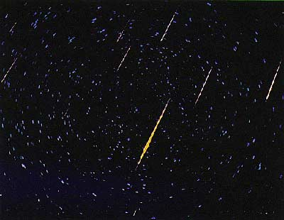 Comets, Meteors, and Asteroids: 3. METEOR SHOWERs and Shooting Stars