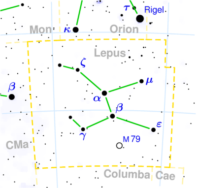 Lepus constellation