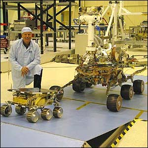 Mars Exploration Rover and Sojourner