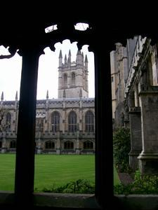 Magdalen College  quadrangle