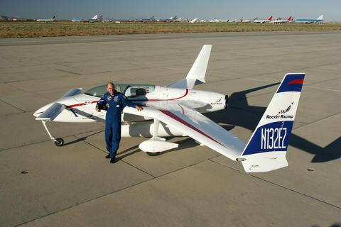 The Mark-1 X-Racer is based on a flight-tested plane called the EZ Rocket