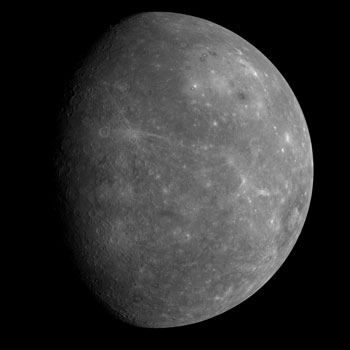 Mercury's previously unseen side