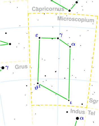Microscopium constellation
