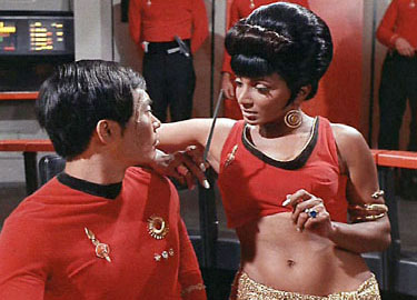 Scene from Star Trek episode Mirror, Mirror