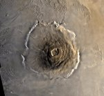 Olympus Mons: largest volcano in the solar system