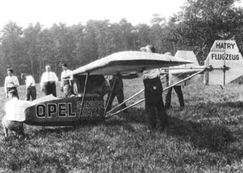 Opel-Rak 1 rocket-powered plane