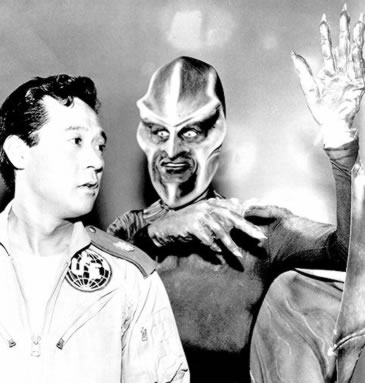 alien from the TV series Outer Limits