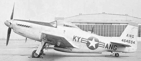 P-51 Mustang of the Kentucky Air National Guard
