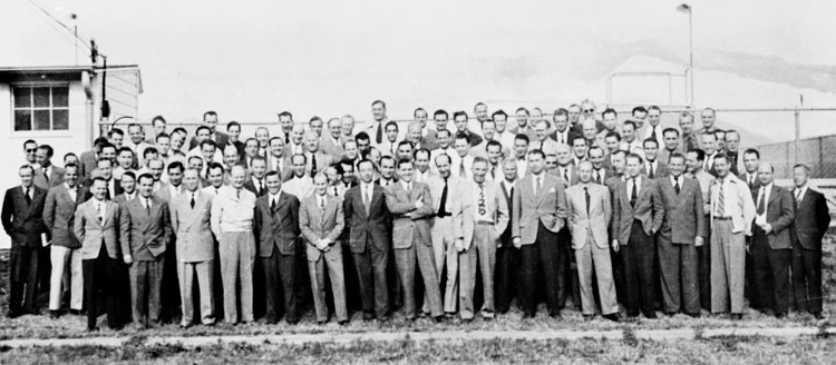 German scientists brought to the US as part of Operation Paperclip