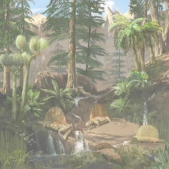 scene from the Permian period