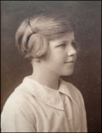 Venetia Phair as an 11-year-old