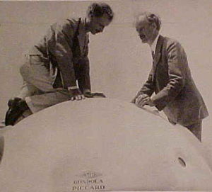 Jean and Auguste Piccard